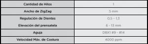 Goldex GL-8700-HD Especificaciones
